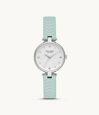 $ CDN80.20 • Buy KATE SPADE Annadale Mint Leather | Silver Women's Watch KSW1627 NEW!