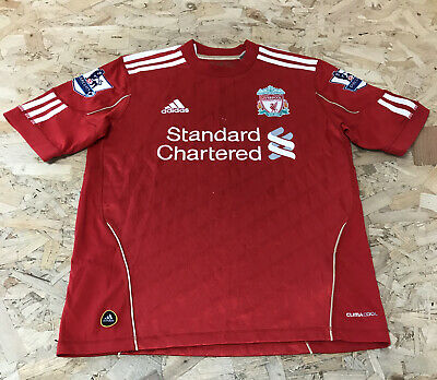 Liverpool Football Top T-Shirt Age 13 To 14 Years Adidas Red B1989/22 • 12.99£