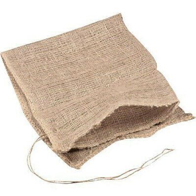 Hessian Sandbags With String Tie Flood Protection Sacks 330x750mm Unfilled • 9.99£