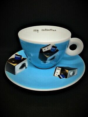 Illy Art Collection 2002 Cappuccino Cup & Saucer International Flight  Norma J. • 34.99£
