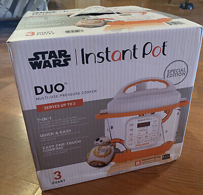 $ CDN124.40 • Buy Star Wars Instant Pot Limited SPECIAL EDITION 3 Quart New BB-8 GREAT GIFT
