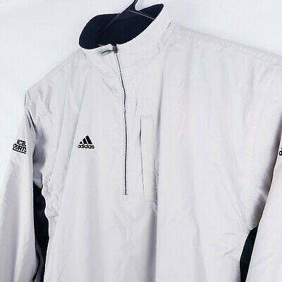 $ CDN44.22 • Buy Adidas Climashell Storm Mens Size XL Full Zip Mesh Lined Rain Wind Vented Jacket