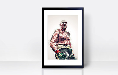 Tyson Fury Wall Print | A4 | Wall Art | Gift | Home Decor | Kitchen Boxing • 3.99£