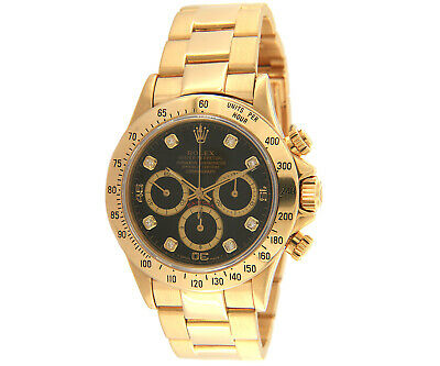 $ CDN62519.14 • Buy 1991 Rolex Daytona 16528, Zenith Movement, 18K Gold, W/ Box & Booklet