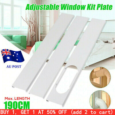 AU27.39 • Buy Window Slide Kit Plate/1Pc Window Adaptor For Portable Air Conditioner