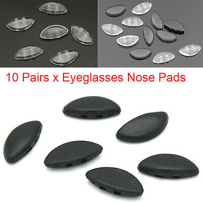 £1.71 • Buy Nose Pads Stick On Nose Pad Spare Parts For Eyeglasses Glasses Anti-slip 10Pairs