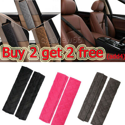 £3.14 • Buy For Aduct Kids Car Safety Seat Belt Shoulder Pads Cover Cushion Harness Pad