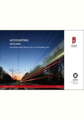 Icaew Accounting 2014 (Passcards), Bpp Learning Media, Good Condition Book, ISBN • 9.62£