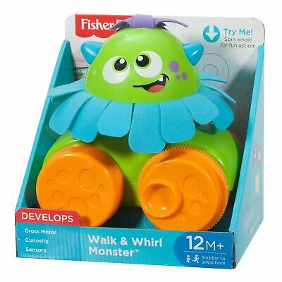 £8.39 • Buy Fisher-Price Walk And Whirl Monster,Pull Along Toy 12M+