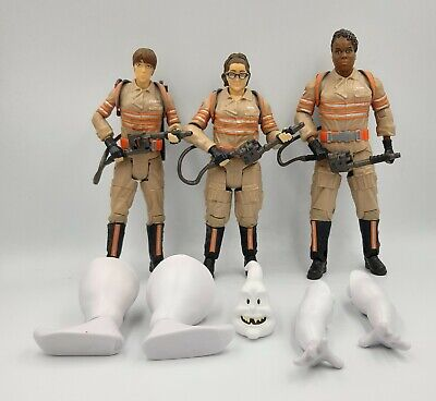 AU30 • Buy Mattel Ghostbusters Loose ERIN PATTY & ABBY Build A Figure...