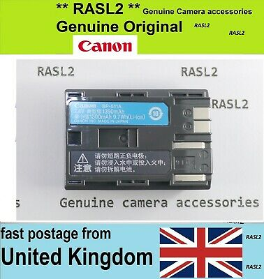 £27.95 • Buy Genuine CANON Battery Pack BP-511a EOS 5D MK 1,EOS 10D 20D 30D 40D 50D EOS-300D