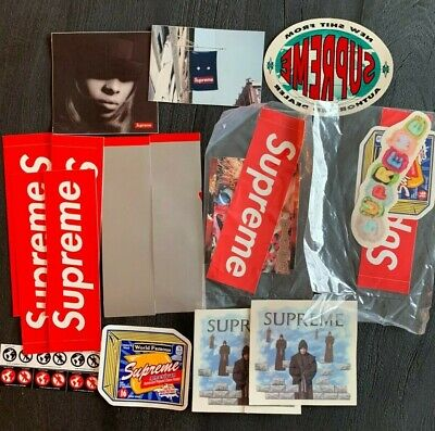 $ CDN51.02 • Buy Supreme Lot Of 20 Stickers Scratch Off BOGO Mary J Blige FW19 SS19
