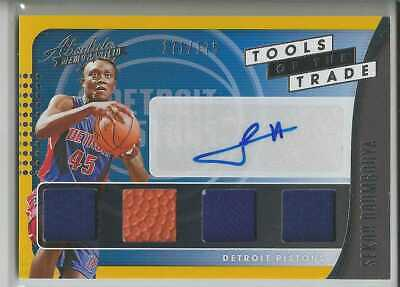 AU50.25 • Buy 2019-20 Absolute Sekou Doumbouya Tools Of The Trade Jersey Auto RC /175 Rookie