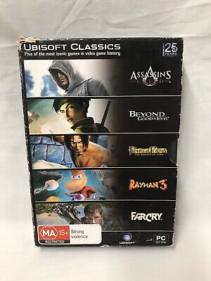 AU36.99 • Buy Ubisoft-PC Games Bundle/Bulk Lot X5. Far Cry, Assassin's Creed & More. Preowned.