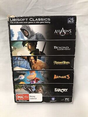 AU34.99 • Buy Ubisoft-PC Games Bundle/Bulk Lot X5. Far Cry, Assassin's Creed & More. Preowned.