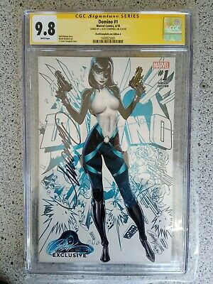 AU238.05 • Buy Domino #1 Jsc.com Edition Variant Cover A Cgc Ss 9.8 Signed By J. Scott Campbell