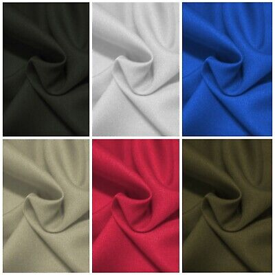 £6.50 • Buy Textured Twill Polyester Fabric 60  (150cms) Dressing Clothing Crafting Material