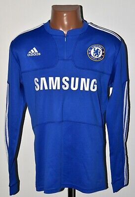 Chelsea London 2009/2010 Home Football Shirt Jersey Adidas Size L Long Sleeve • 69.99£