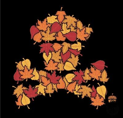 £30 • Buy Johnny Cupcakes Fall Leaves LARGE MENS