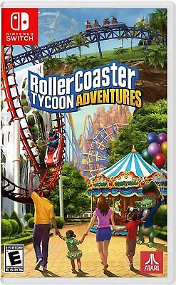 AU47 • Buy Rollercoaster Tycoon Adventures Nintendo Switch Brand New Sealed