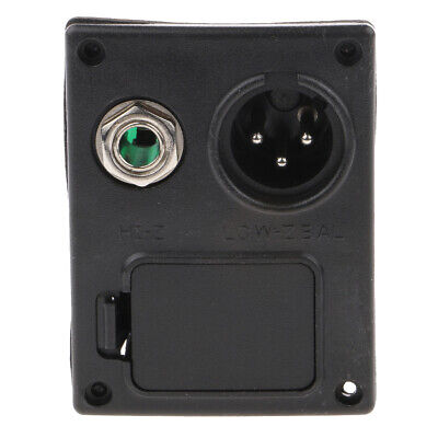 £4.23 • Buy Acoustic Guitar Equalizer EQ Battery Box 4 Pin Any Guitars Case Cover Black