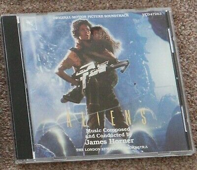 Aliens [Original Motion Picture Soundtrack] (1992) FILM SOUNDTRACK,JAMES HORNER • 15£