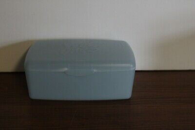 $ CDN12.52 • Buy  Vintage Wet Ones  Storage Container Plastic Box Blue Playtex Products