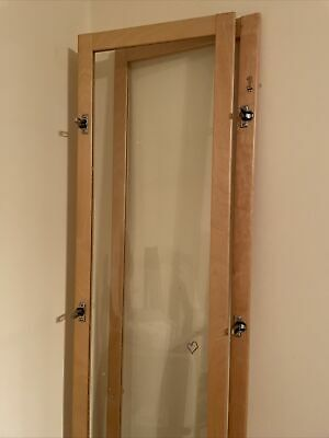 Pair Of Ikea Byom Glass Doors For Billy Bookcase • 20£