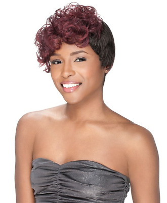 SENSATIONNEL 100% HUMAN HAIR PREMIUM NOW BUMP WIG CARLY Colour TFBG  • 21.99£