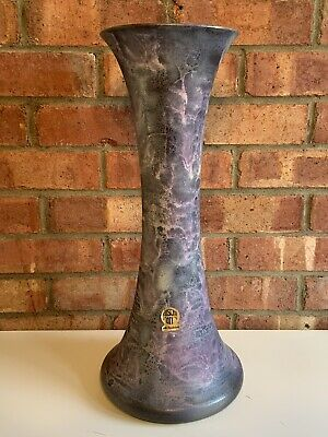 West German Floor Vase By Ruscha 862-4 Mid Century Modern • 85£