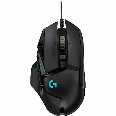AU85 • Buy Logitech G502 HERO Gaming Mouse High Performance Wired Optical - Black