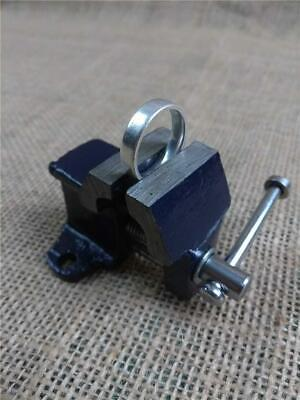 £3.90 • Buy Clearance D2800 25mm Mini Vice Jewellery Clamp Model Making Cast Iron Hobby Vice