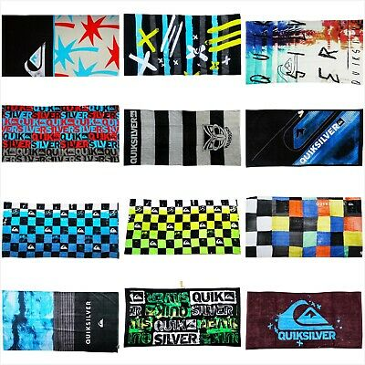 AU47.99 • Buy **Quiksilver** Ex Large Beach Towel Quick Dry Swim Travel Holiday Bath Towel