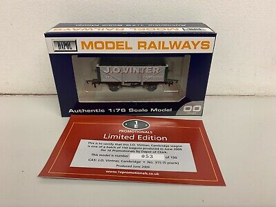 Dapol / 1E Promotional 5 Plank Coal Wagon 'J.O.VINTER Cambridge' - Boxed • 19.50£