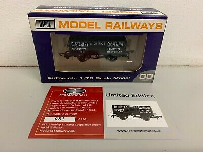 £19.50 • Buy Dapol / 1E Promotional 5 Plank Coal Wagon 'BLETCHLEY CO-OP No.86' - Boxed