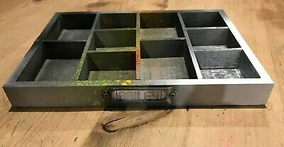 Urban Camo 3 Edition Mini Tray Only For Diy Letterpress Letters Printing Display • 6£