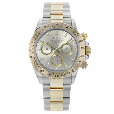 $ CDN20447.99 • Buy Rolex Daytona 18K Yellow Gold Steel Grey Dial Automatic Mens Watch 116523