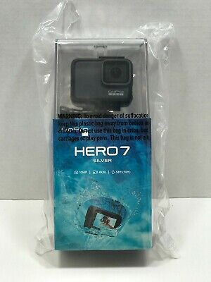 $ CDN304.48 • Buy GoPro HERO7 2 Inch 4K Waterproof Action Camera - Silver (CHDHC-601)