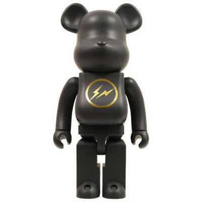 $3000 • Buy Medicom 2010 Bearbrick HF Fragment Lightning Design Black 1000% Display Figure
