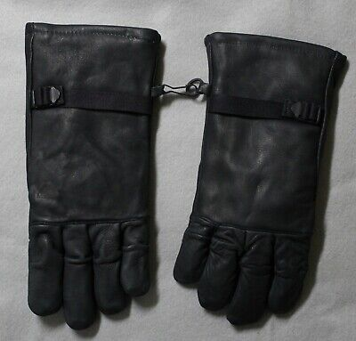 $12.99 • Buy Genco Military Black Leather Gloves Mens/Womens Intermediate Cold/Wet Size 2