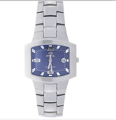 Breil Milano Men's Square Date Automatic Stainless Steel Watch Brand New In Box • 146.53£