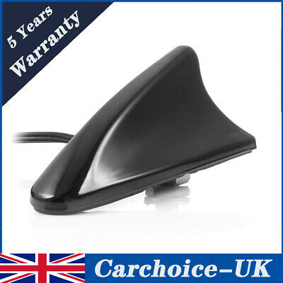 DAB Car Aerial Antenna SMB Adapter AM/FM Shark Fin Roof Mount Aerial For Kenwood • 18.95£