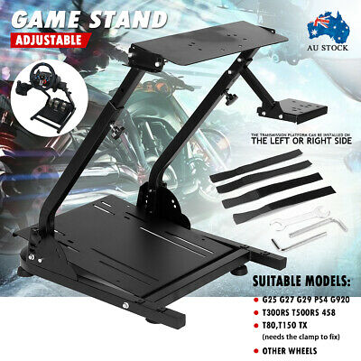 AU110.99 • Buy Adjustable New Game Stand Game Support For Logitech G29/G27 Racing Wheel Shifter