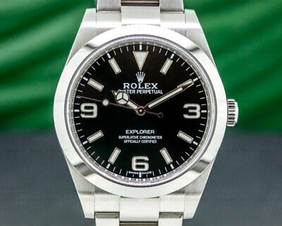 $ CDN11398.72 • Buy Rolex 214270 Explorer I 214270 39MM 2020 WITH BOX AND PAPERS!