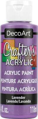 Crafter's Acrylic All Purpose Paint 4oz Lavender 766218013651 • 11.45£