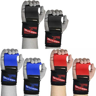£9.42 • Buy Weight Lifting Power Training Wrist Support Wrap Deadlift Hook Bar Gym Straps