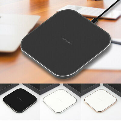AU9.59 • Buy Qi Wireless Charger FAST Charging Pad For  IPhone XS XR X IPhone 8 8 Plus