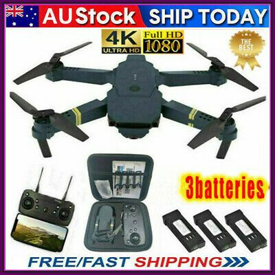 AU68.37 • Buy Drone X Pro WIFI FPV 4K HD Camera 1-3 Batteries Foldable Selfie RC Quadcopter AU