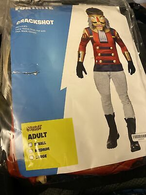 $ CDN28.35 • Buy Fortnite Crackshot Adult Halloween Costume Sz: Medium