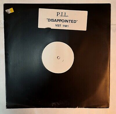 Public Image Limited, Disappointed, NEW* Original UK PROMO 12 Inch Vinyl Single • 9.99£